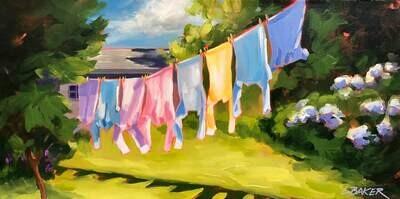 Clothesline - Louise Baker