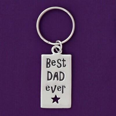 Best Dad Ever Keychain- Basic Spirit