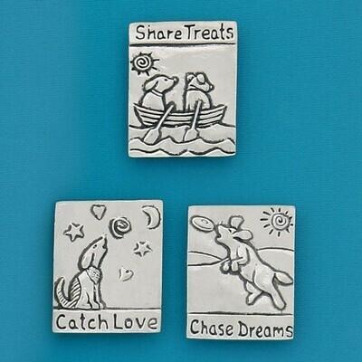 Chase Dreams Dogs Magnet Set - Basic Spirit