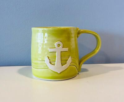 Lime Anchor Mug GA