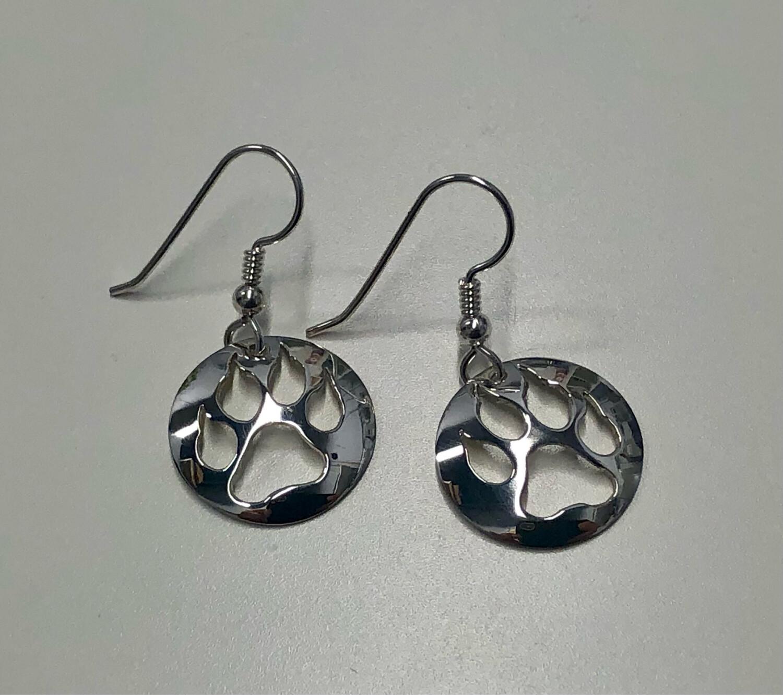 Ben Sickles - Wolf Paw Earrings