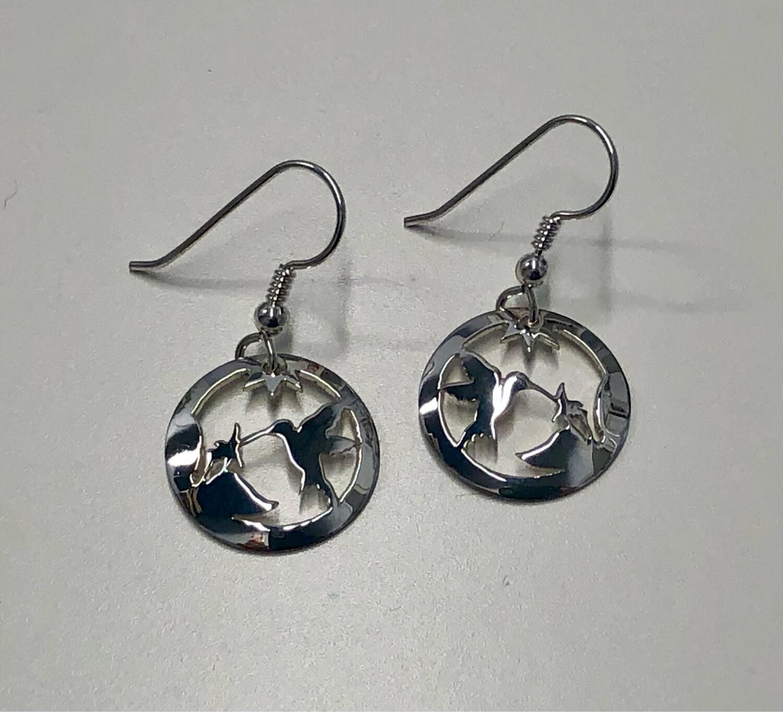 Ben Sickles - Hummingbird Earrings