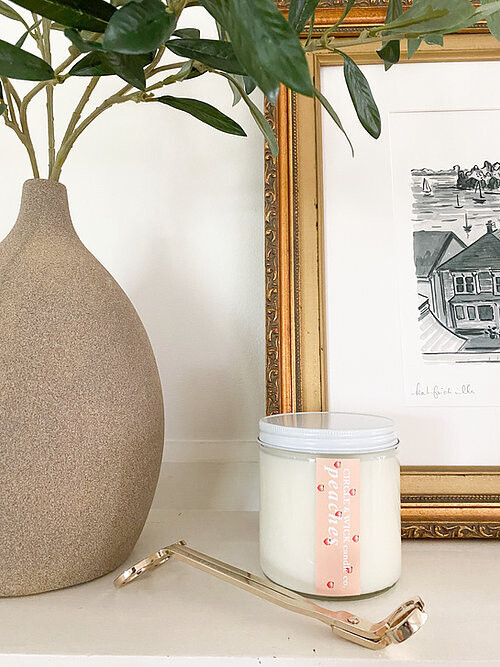 Circle & Wick Peaches Double Wick Candle