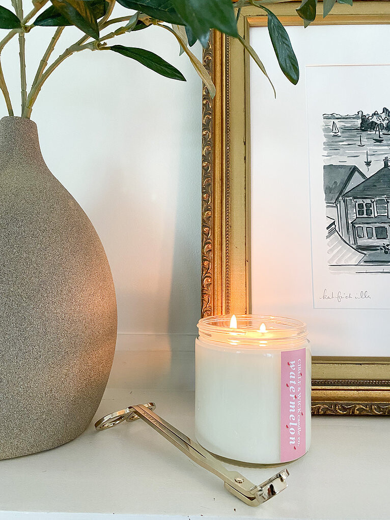 Circle & Wick Watermelon Double Wick Candle