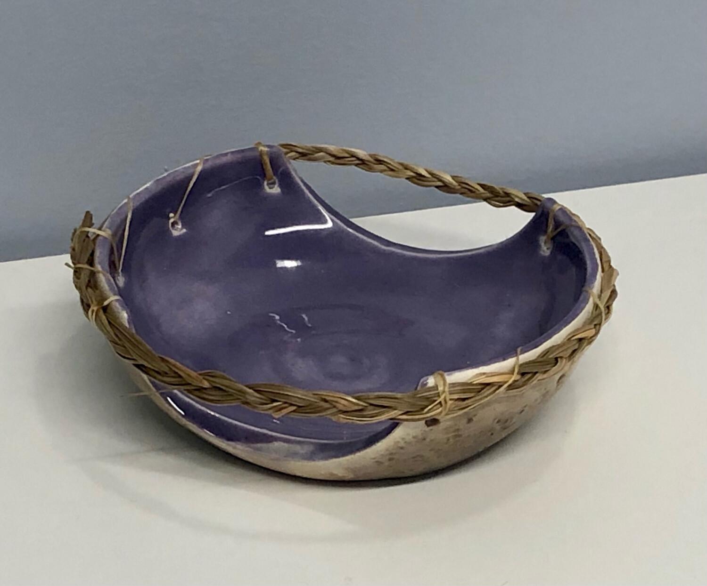 Nancy Oakley - Purple Smudge Bowl