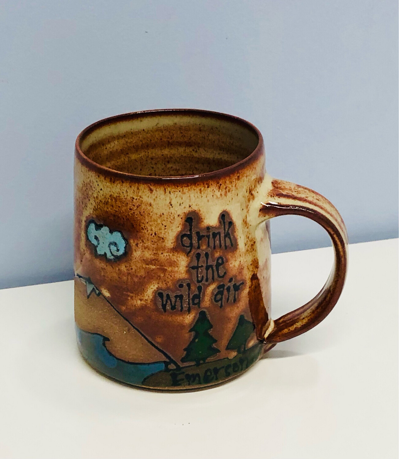 Branches Pottery- Drink The Wild Air, Natural