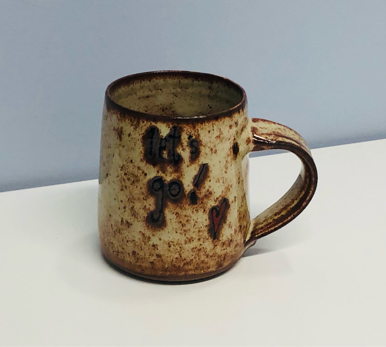 Branches Pottery- Let's Go!, Natural