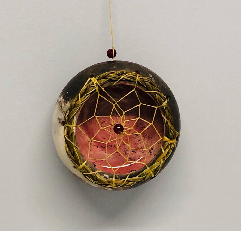 Nancy Oakley - Pink Dream Ornament