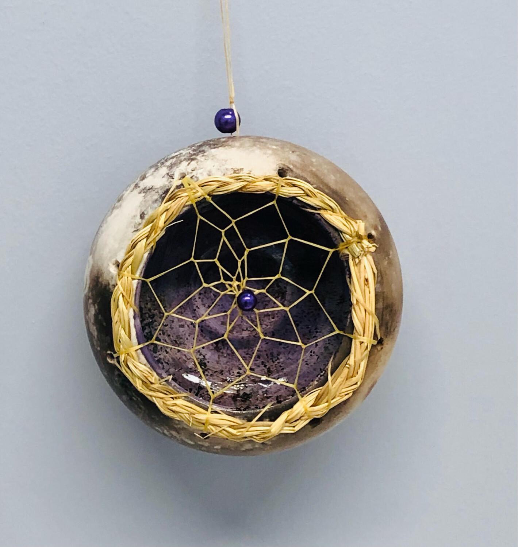 Nancy Oakley - Purple Dream Ornament