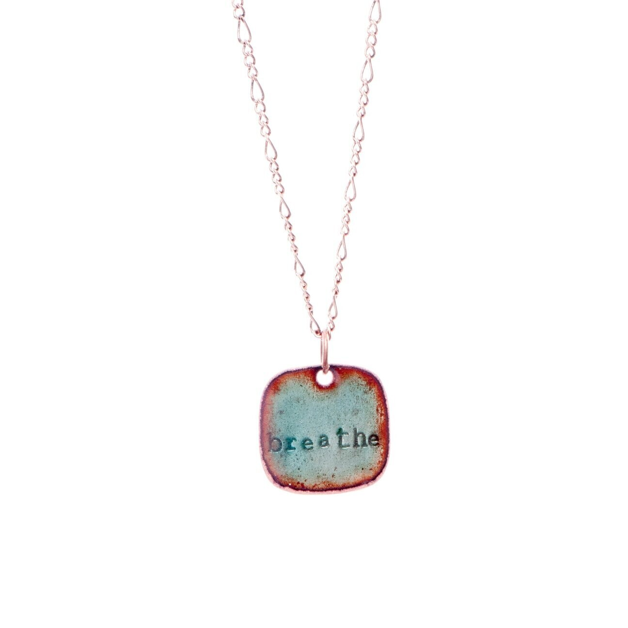 Breathe Necklace - Aflame