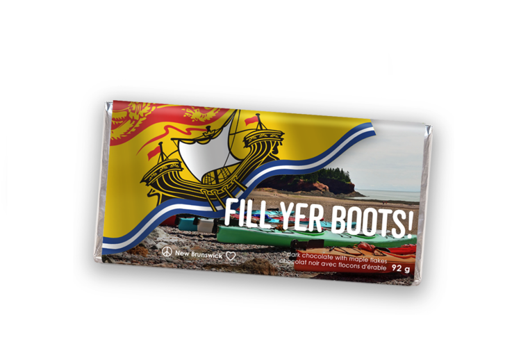 Fill Yer Boots Bar - Peace by Chocolate