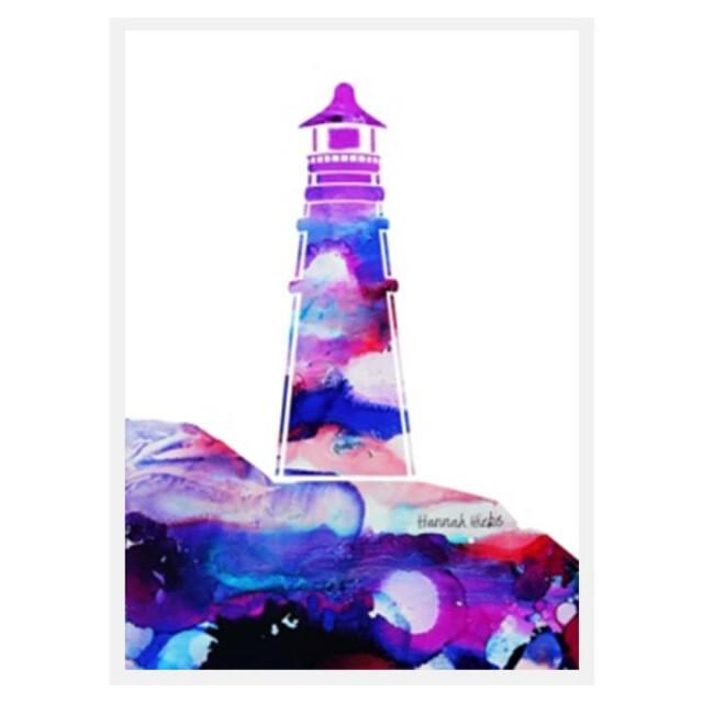 Lighthouse Card - Hannah Hicks