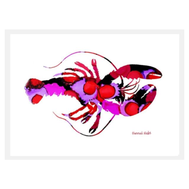 Lobster Card - Hannah Hicks