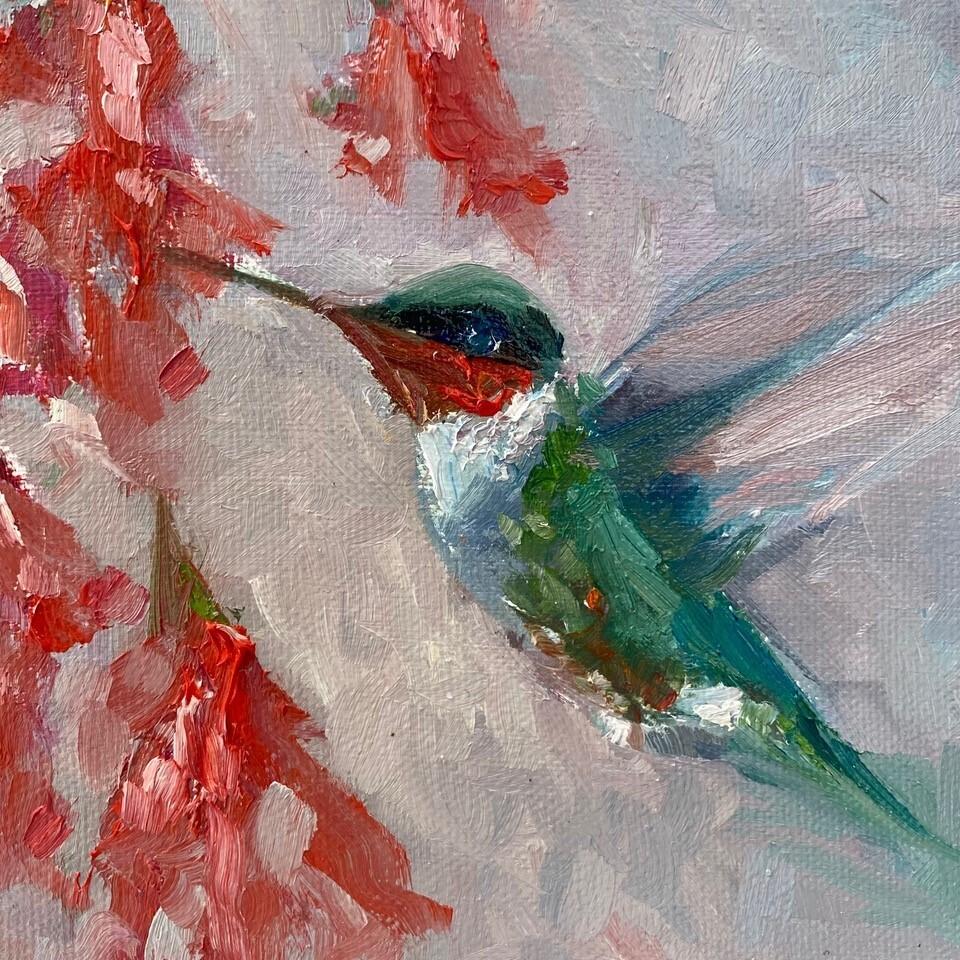 Just a Sip, Hummingbird