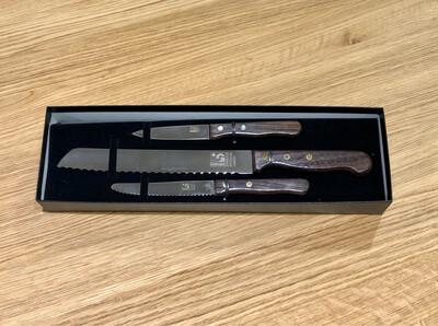 3 Piece Kitchen Knife Set - Grohmann Knives