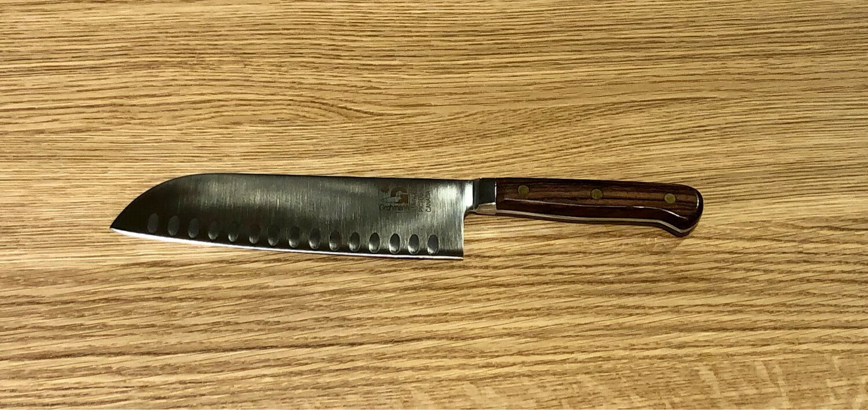 "Forged 7"" Santoku Knife - Grohmann Knives"