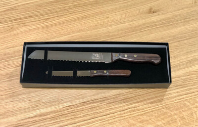 2 Piece Bread & Tomato Set - Grohmann Knives