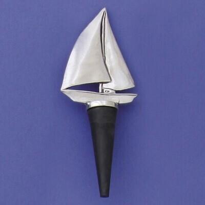 Sailboat Bottle Stopper- Basic Spirit