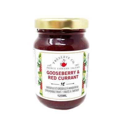 Gooseberry Red Currant 125ml, PEI
