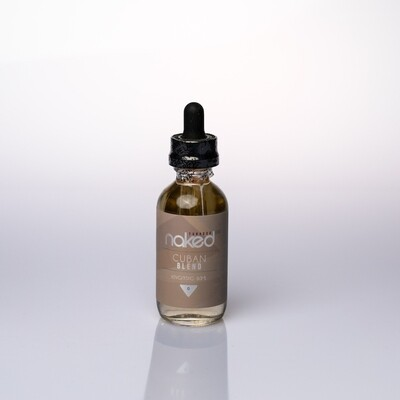 Naked100 Cuban Blend 60ml