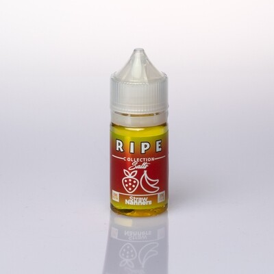 Vape 100 Ripe Straw Nanners Salt 30ml