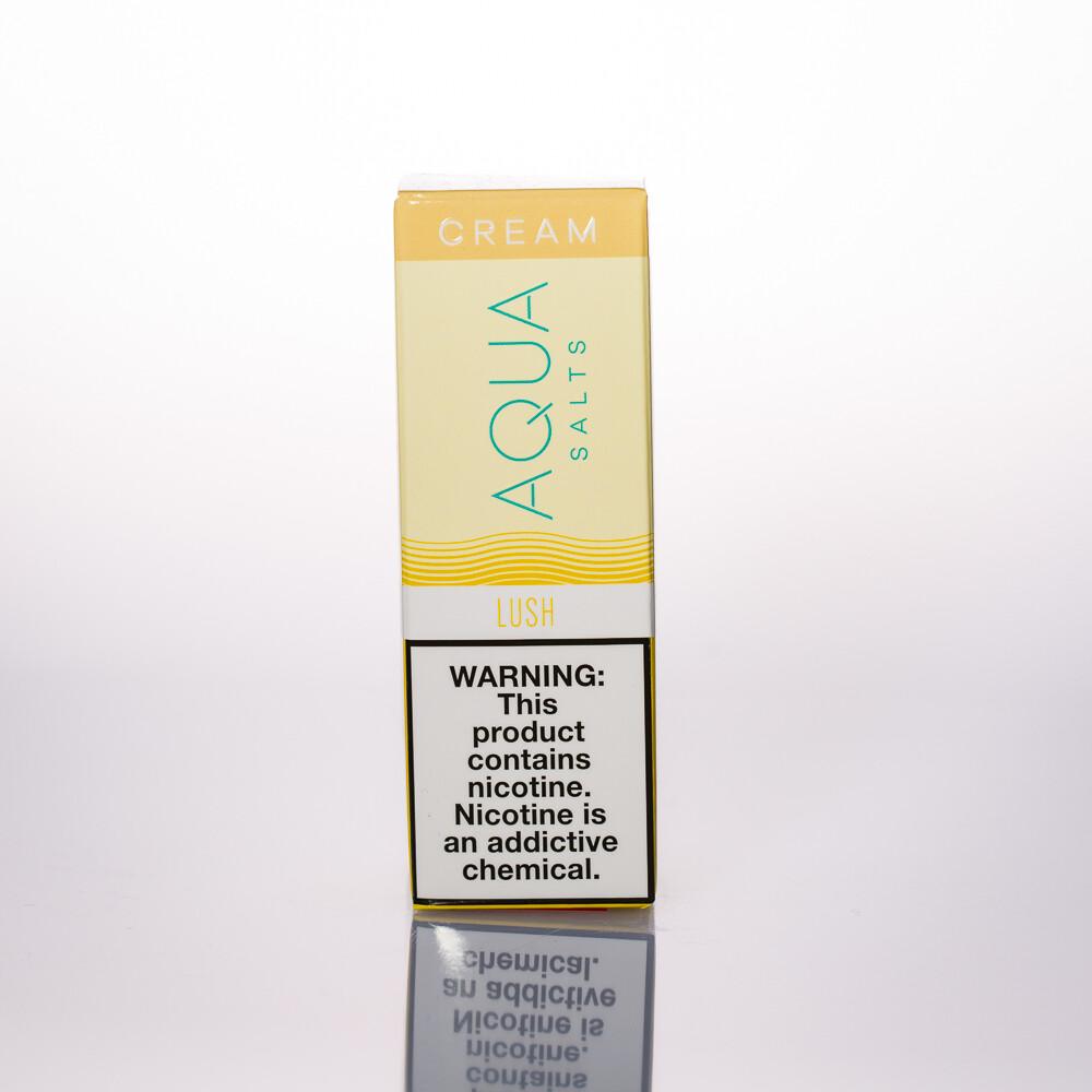 Aqua Cream Lush Salt 30ml
