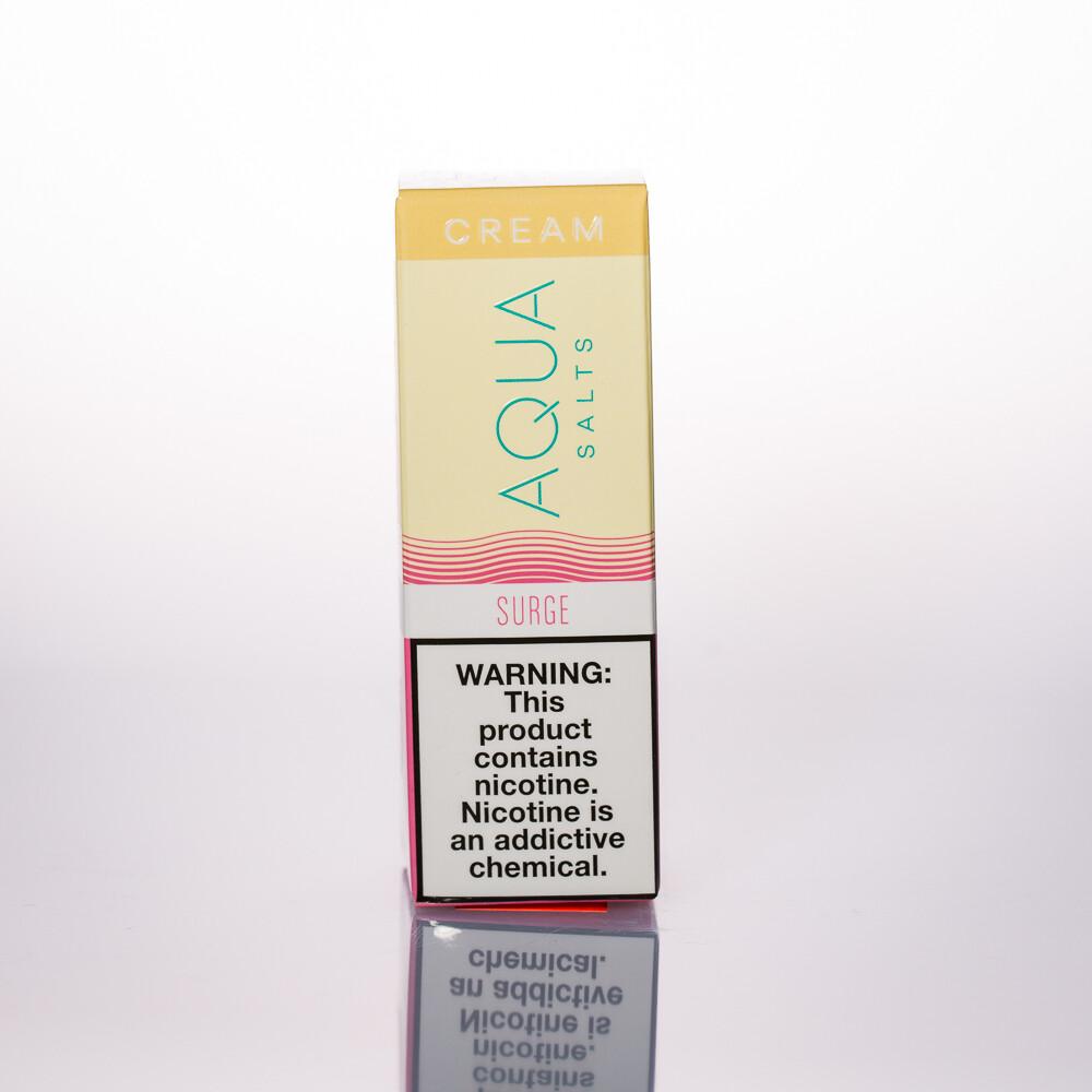 Aqua Cream Surge Salt 30ml