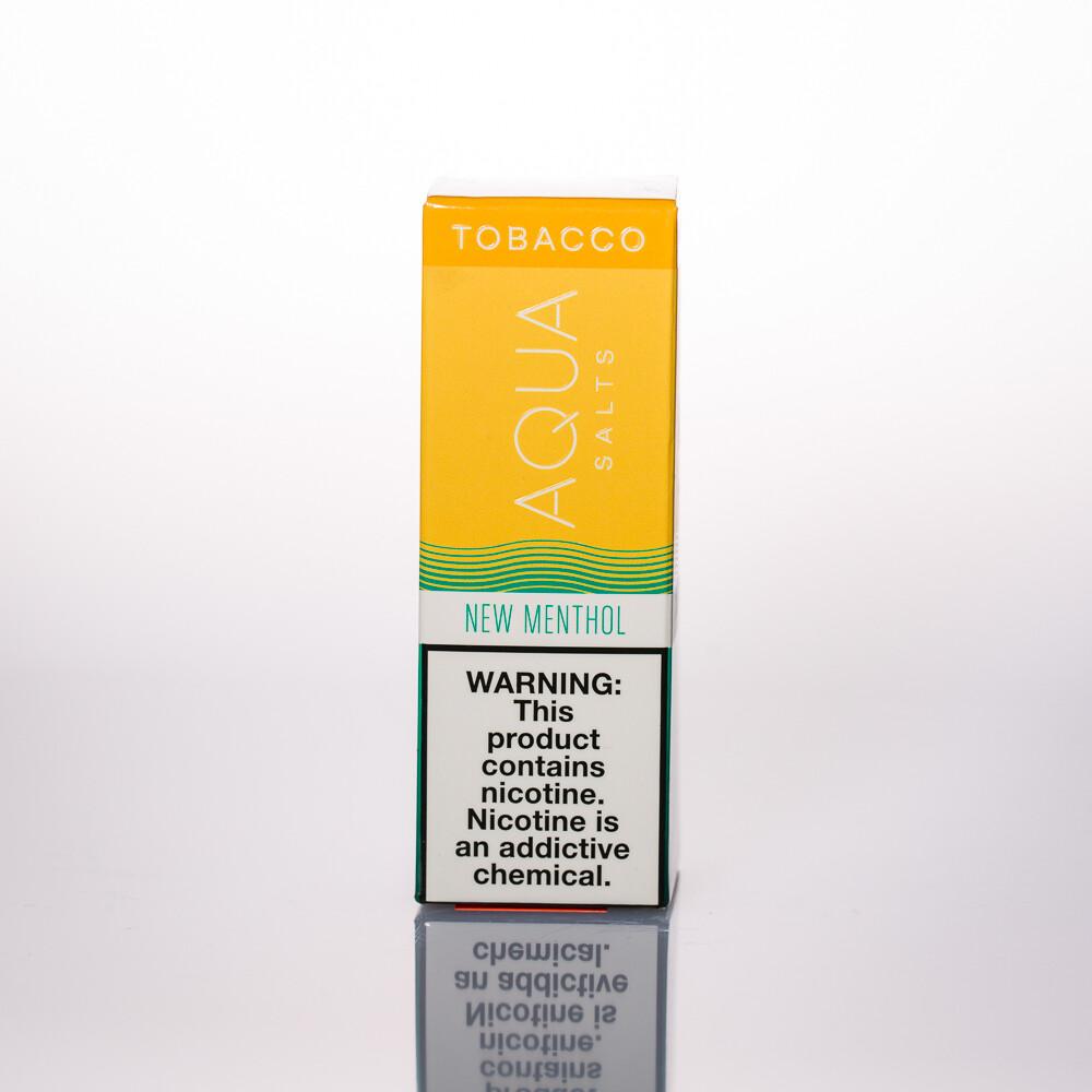 Aqua Tobacco Salt New Menthol 30ml