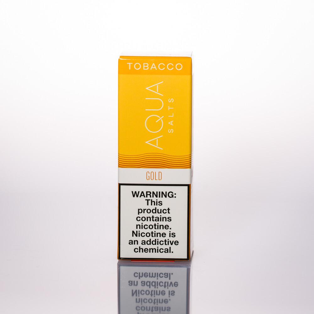 Aqua Tobacco Gold (Hydra) Salt 30ml