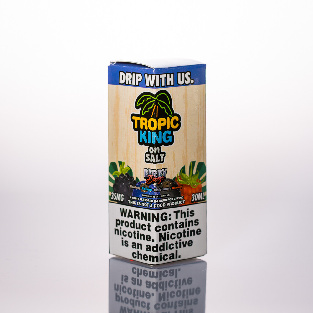 Tropic King Berry Breeze Salt 30ml