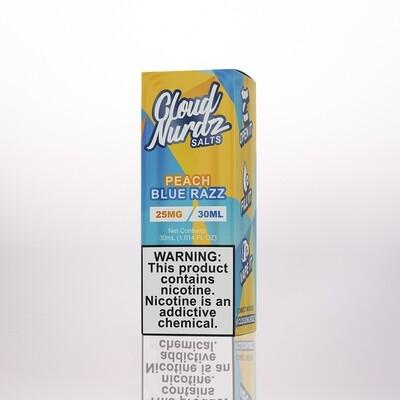 Cloud Nurdz Peach Blue Razz Salts