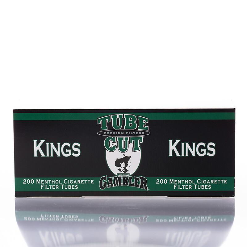 Gambler Tube Cut King Menthol 200ct.