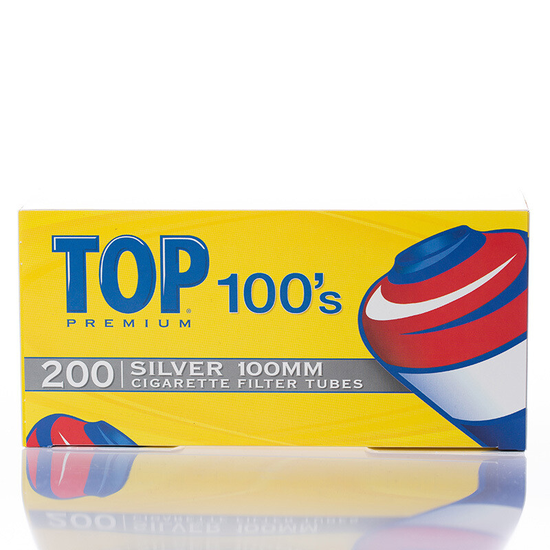 TOP 100's Silver 100mm 200ct