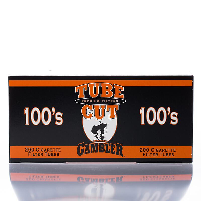 Gambler Tube Cut 100mm FF Orange 200ct.