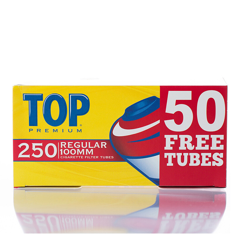 Top Regular 100 Cigarette Tubes