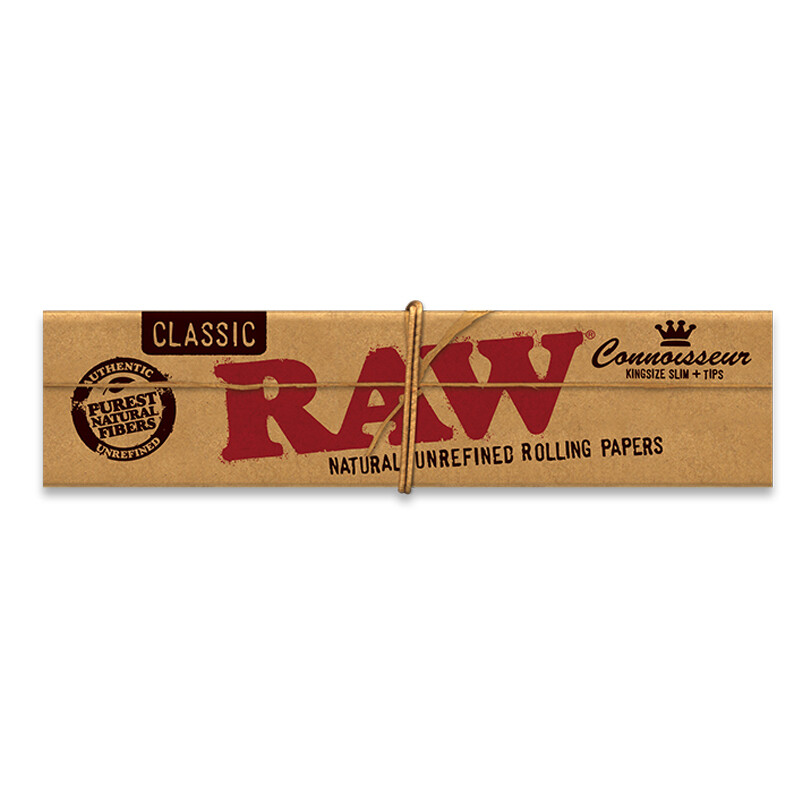 Raw Classic Connoisseur K/S with Tips