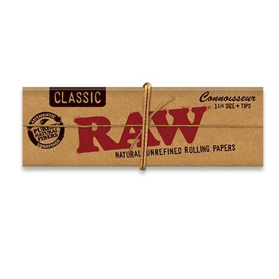 Raw Classic Connoisseur 1 1/4 with Tips