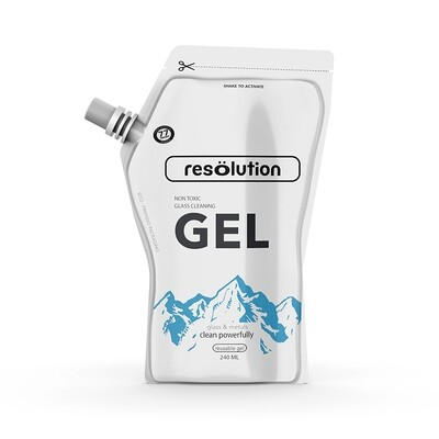 Res Gel Glass Cleaning Solution