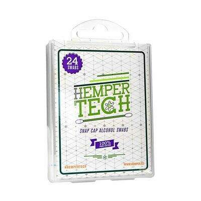 Hemper Tech Alcohol Swabs 24ct