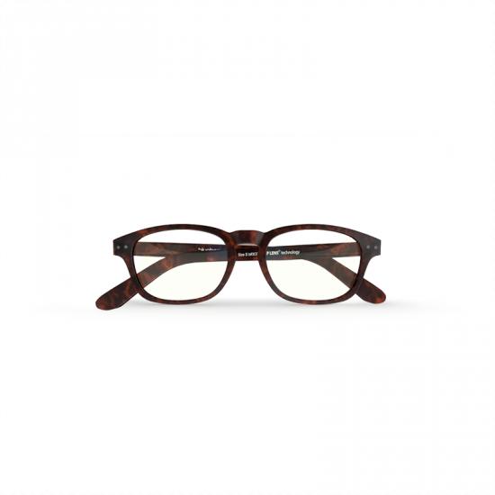 Blueberry glasses with blue light filtering lenses S chestnut