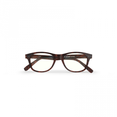Blueberry glasses with blue light filtering lenses L chestnut