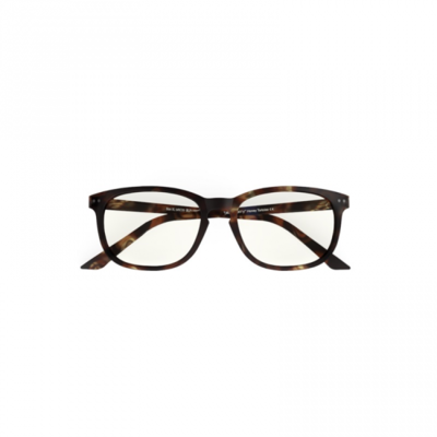 Blueberry glasses with blue light filtering lenses XL honey tortoise