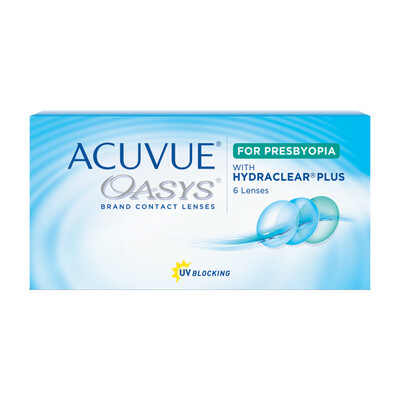 Acuvue Oasis for Presbyopia (6-pack)
