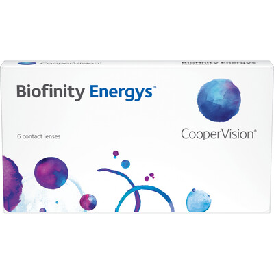 Biofinity Energys (6-pack)