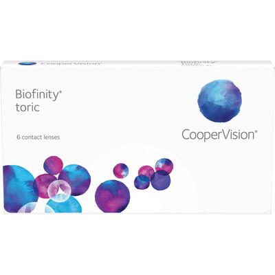 Biofinity Toric (6-pack)