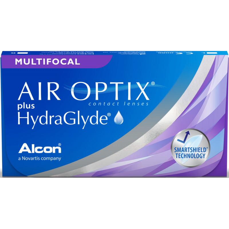 Air Optix Plus HydraGlyde Multifocal (6-pack)