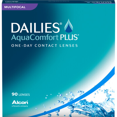 Dailies AquaComfort Plus Multifocal (90-pack)