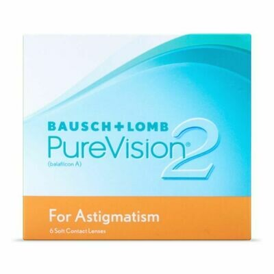 PureVision 2 for Astigmatism (6-pack)