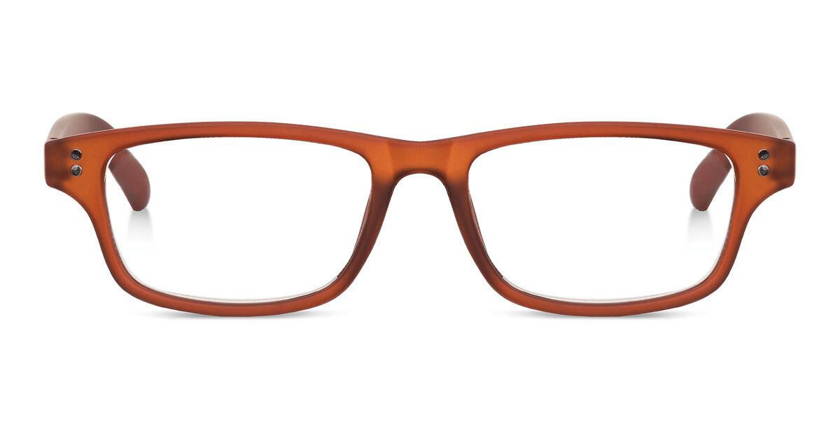 Looplabb reading glasses Shannara brown S+2.50