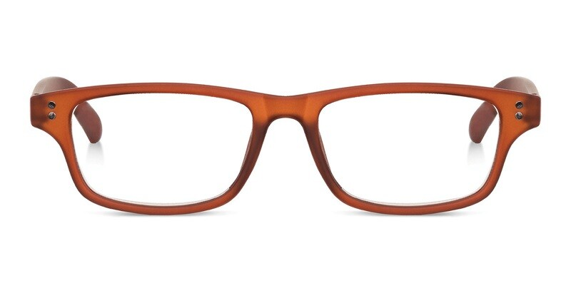 Looplabb reading glasses Shannara brown +2.50